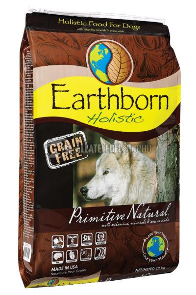 Earthborn Holistic - Primitive Natural Csirke & Burgonya gabonamentes kutyatáp 12kg