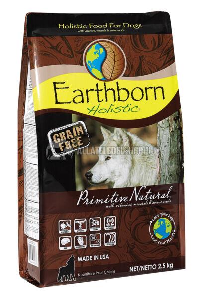 Earthborn Holistic - Primitive Natural Csirke & Burgonya gabonamentes kutyatáp 2,5kg