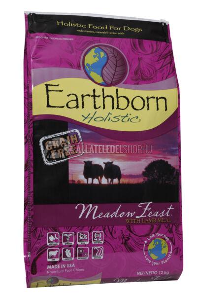 Earthborn Holistic - Meadow Feast Bárány húsos gabonamentes és hypoallergén kutyatáp 12kg