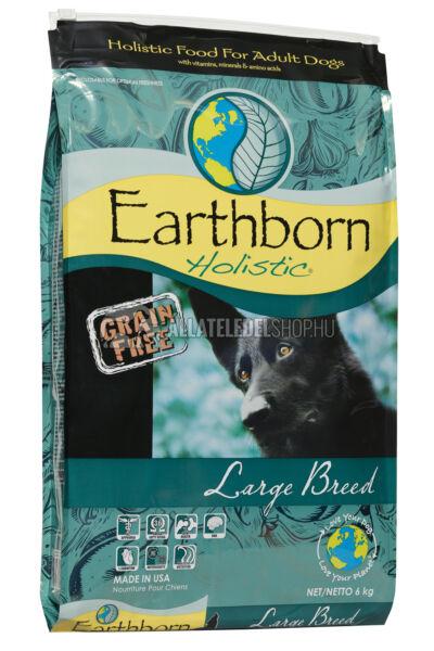 Earthborn Holistic - Large Breed Csirke húsos gabonamentes kutyatáp 6kg
