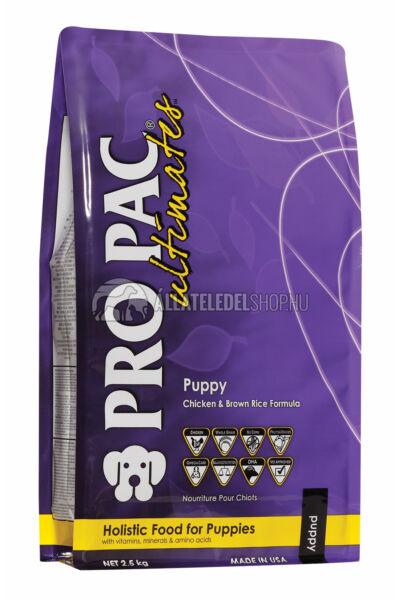 Pro Pac Ultimates - Csirke & Barna Rizs kutyatáp Puppy 2,5kg