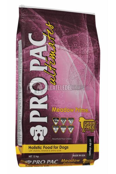 Pro Pac Ultimates - Meadow Prime Bárány & Burgonya gabonamentes és hypoallergén kutyatáp 12kg