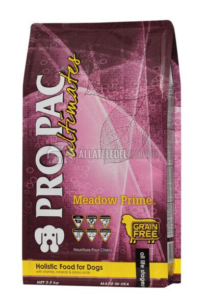 Pro Pac Ultimates - Meadow Prime Bárány & Burgonya gabonamentes és hypoallergén kutyatáp 2,5kg