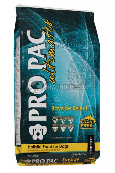 Pro Pac Ultimates - Bayside Select Hal & Burgonya gabonamentes és hypoallergén kutyatáp 12kg