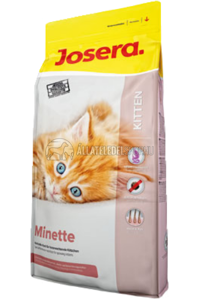 Josera macskaeledel - Minett kitten 1 éves korig macskatáp 2kg