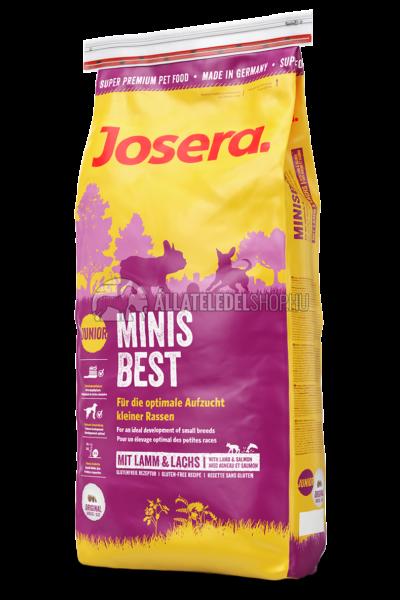 Josera - Junior MinisBest - Bárány és lazacos kutyatáp 4kg