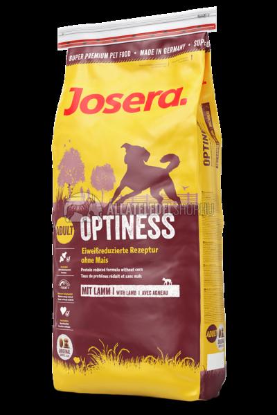 Josera - Adult Optiness  - Bárányos kutyatáp 15kg