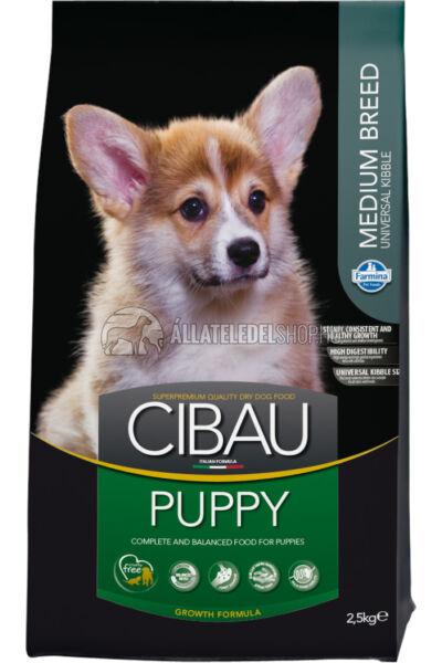 Cibau - Puppy Medium kutyatáp 2,5Kg