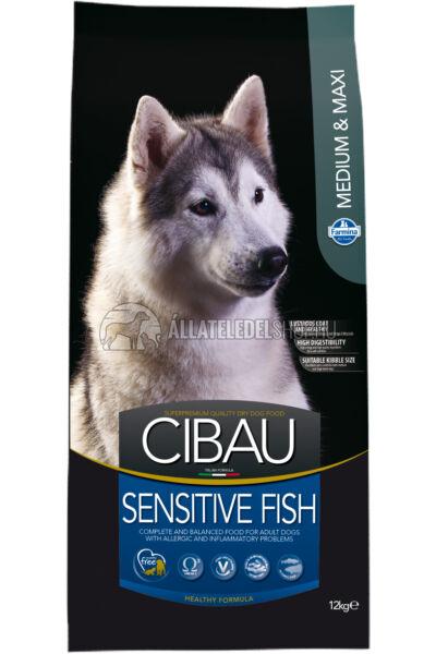 Cibau - Sensitive Medium & Maxi Halas hypoallergén kutyatáp 12Kg