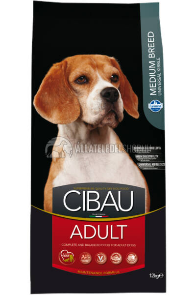 Cibau - Adult Medium kutyatáp 12Kg