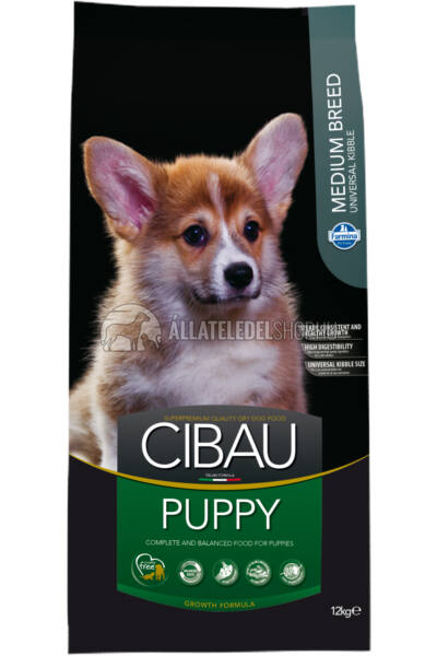 Cibau - Puppy Medium kutyatáp 12Kg