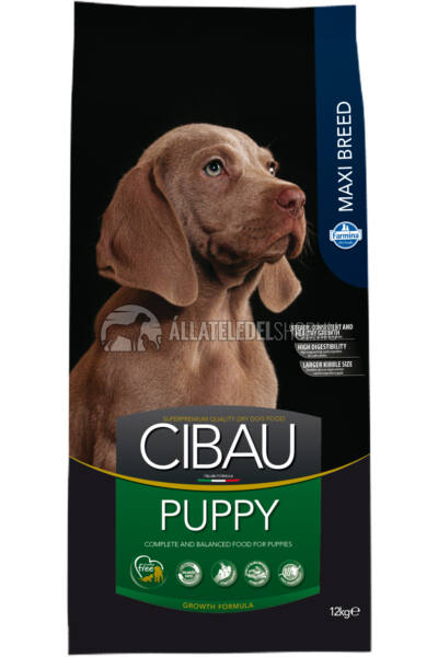 Cibau - Puppy Maxi kutyatáp 12Kg