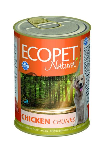 Ecopet Natural - Csirkés kutyakonzerv 405g