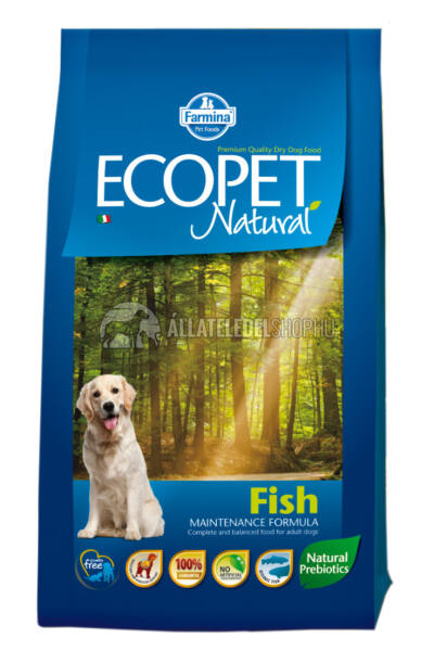 Ecopet - Natural Halas kutyatáp 2,5kg
