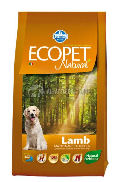 Ecopet - Natural Bárányos kutyatáp 2,5Kg