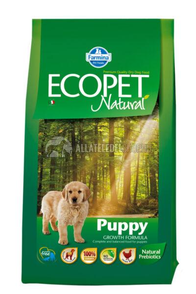 Ecopet - Natural Puppy Csirke húsos kutyatáp 2,5Kg