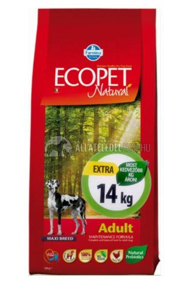 Ecopet - Natural Adult Maxi Csirke húsos kutyatáp 14Kg