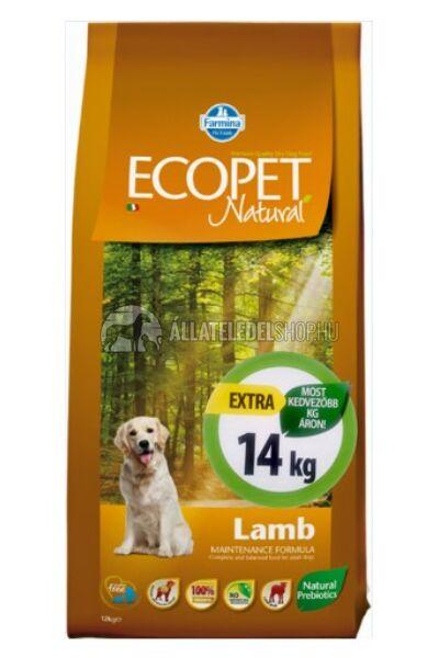 Ecopet - Natural Puppy Medium Csirke húsos kutyatáp 14Kg