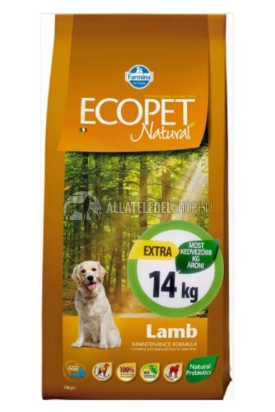 Kutyatáp - Ecopet Natural Puppy 14KG