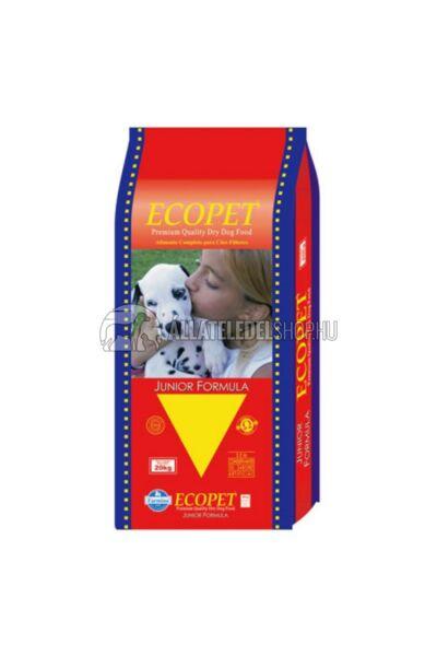 Ecopet - Junior 27/14 Csirke húsos kutyatáp 15kg