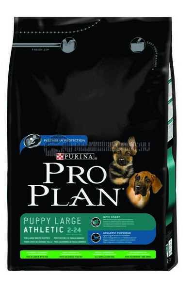 Pro Plan - Puppy Large Breed Robust Csirke - Rizs  kutyatáp 3kg
