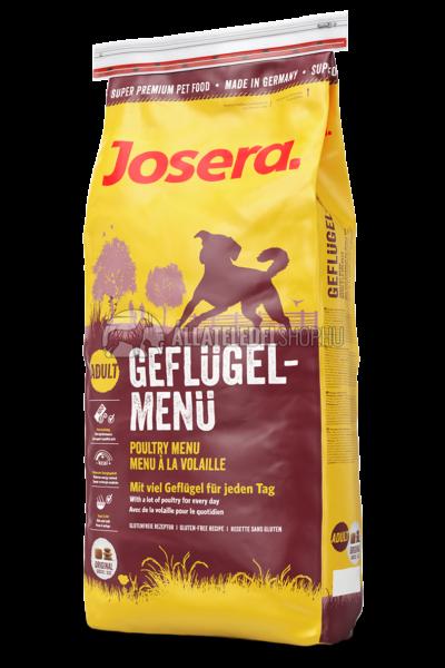 Josera - Adult Poultry Menu - Csirkés kutyatáp 15kg