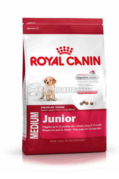 Royal Canin - Medium Junior kutyatáp 15kg