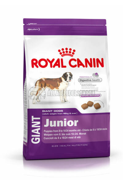 Royal Canin - Giant Junior kutyatáp 4kg