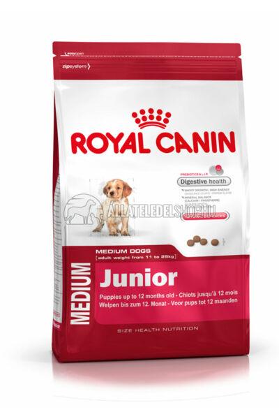 Royal Canin - Medium Junior kutyatáp 4kg