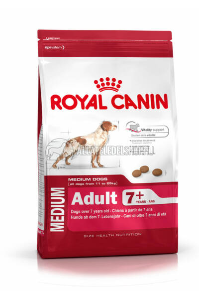 Royal Canin - Medium Adult 7+ Mature kutyatáp 4kg