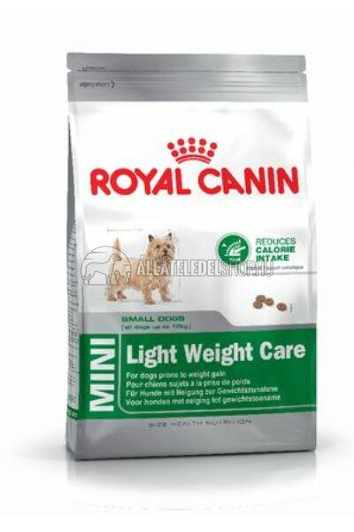 Royal Canin - Mini Light Weight Care kutyatáp 8kg