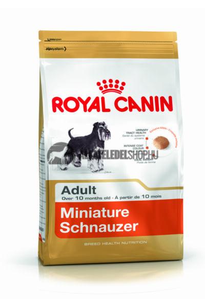 Royal Canin - Miniature Schnauzer Adult kutyatáp 3kg
