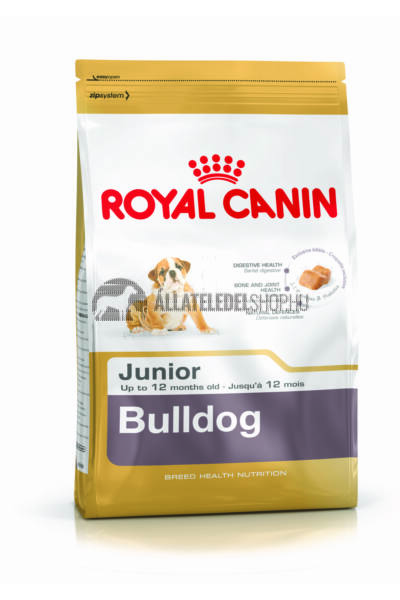 Royal Canin - Bulldog Junior kutyatáp 12kg