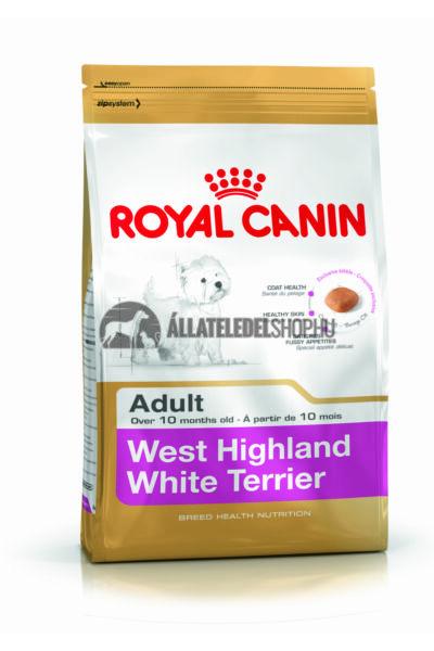 Royal Canin - West Highland White Terrier Adult kutyatáp 1,5kg