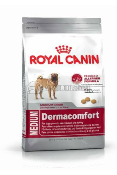 Royal Canin - Medium Dermacomfort hypoallergén kutyatáp 3kg