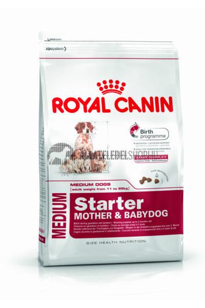 Royal Canin - Medium Sarter Mother & Babydog kutyatáp 4kg