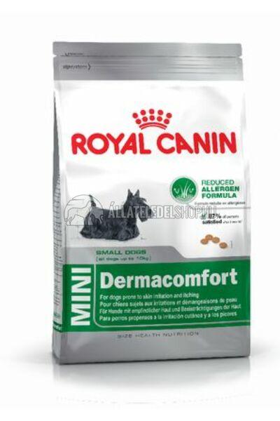 Royal Canin - Mini Dermacomfort hypoallergén kutyatáp 10kg