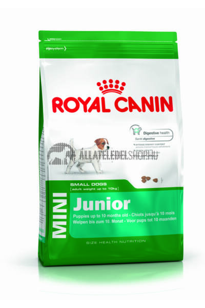 Royal Canin - Mini Junior kutyatáp 4kg