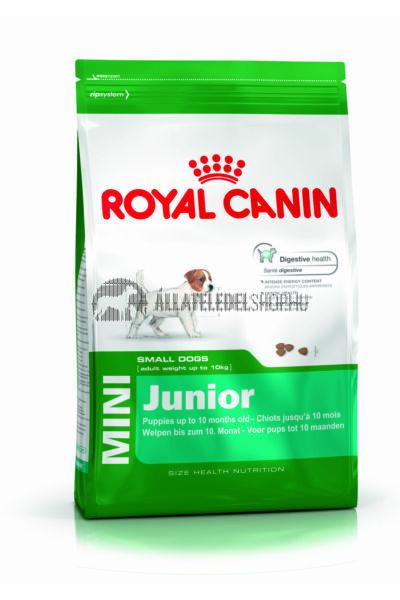 Royal Canin - Mini Junior kutyatáp 8kg