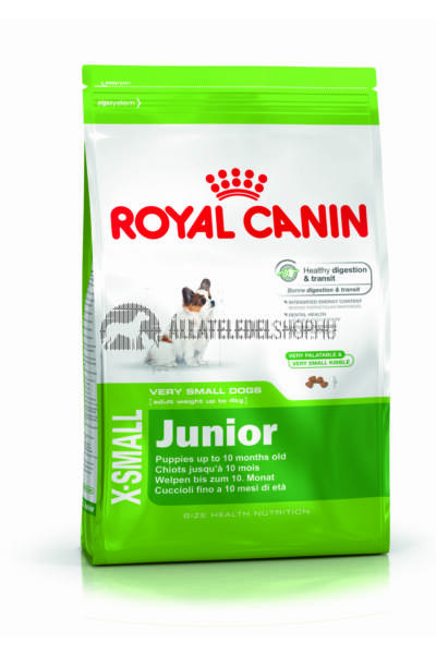 Royal Canin - X-Small Junior kutyatáp 0,5kg
