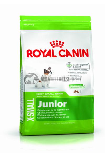Royal Canin - X-Small Junior kutyatáp 1,5kg