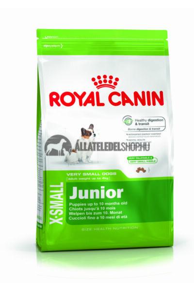 Royal Canin - X-Small Junior kutyatáp 3kg