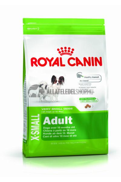 Royal Canin - X-Small Adult kutyatáp 0,5kg