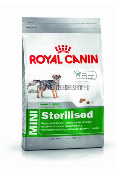 Royal Canin - Mini Sterilised kutyatáp 2kg