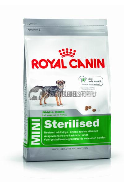 Royal Canin - Mini Sterilised kutyatáp 8kg