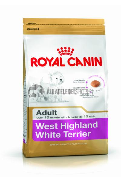 Royal Canin - West Highland White Terrier Adult kutyatáp 3kg