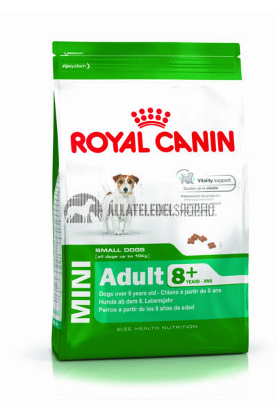 Royal Canin - Mini Adult 8+ Mature kutyatáp 8kg