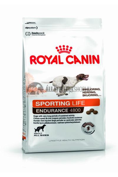 Royal Canin - Sporting Life Range Endurance 4800. kutyatáp 15kg