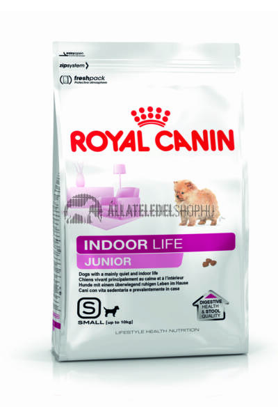 Royal Canin - Indoor Life Junior Small kutyatáp 0,5kg