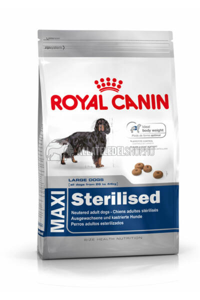 Royal Canin - Maxi Sterilised kutyatáp 3kg